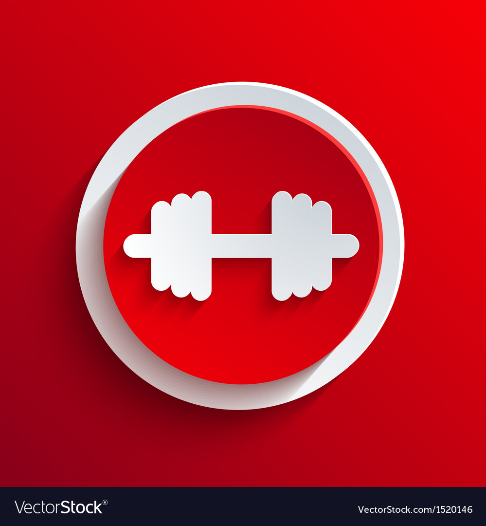 Red circle icon eps10 vector   Price: 1 Credit (USD $1)
