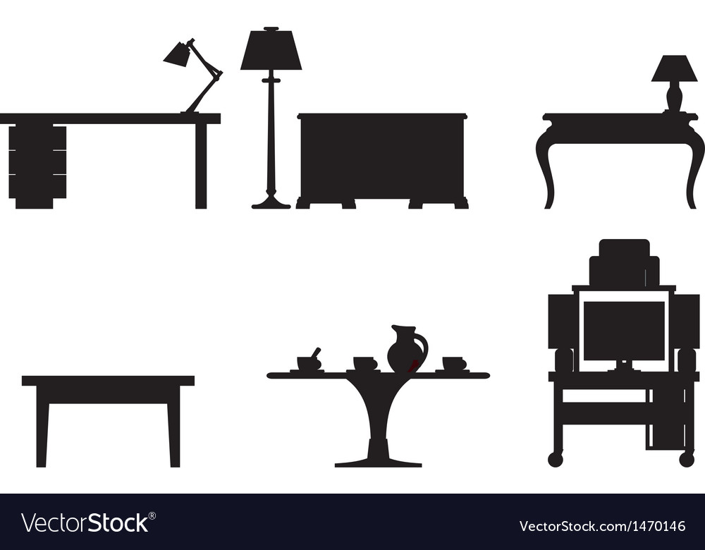 Tables vector | Price: 1 Credit (USD $1)