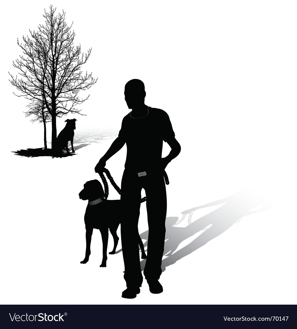 Walking man vector | Price: 1 Credit (USD $1)