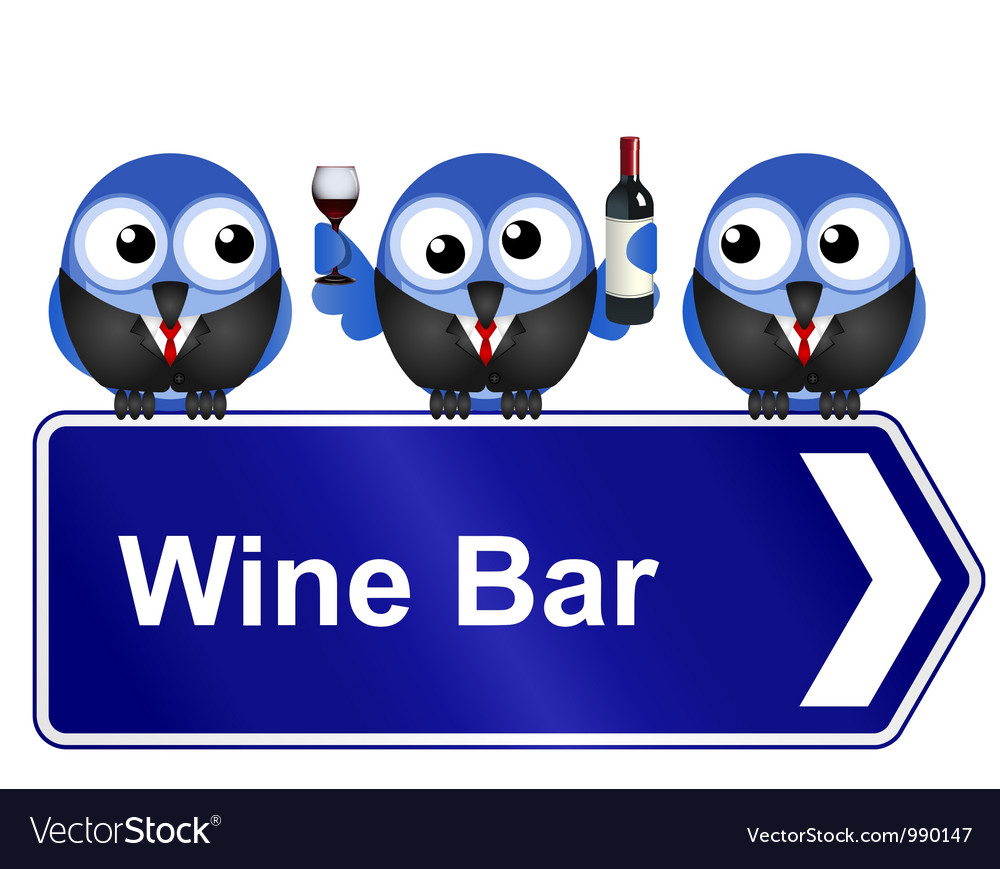 Wine bar vector | Price: 1 Credit (USD $1)