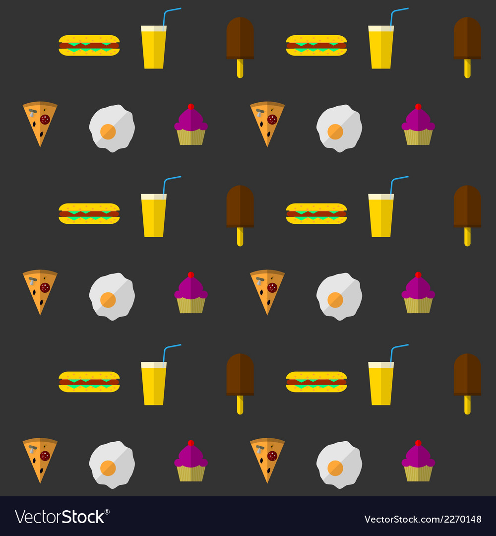 Background for fast food vector | Price: 1 Credit (USD $1)