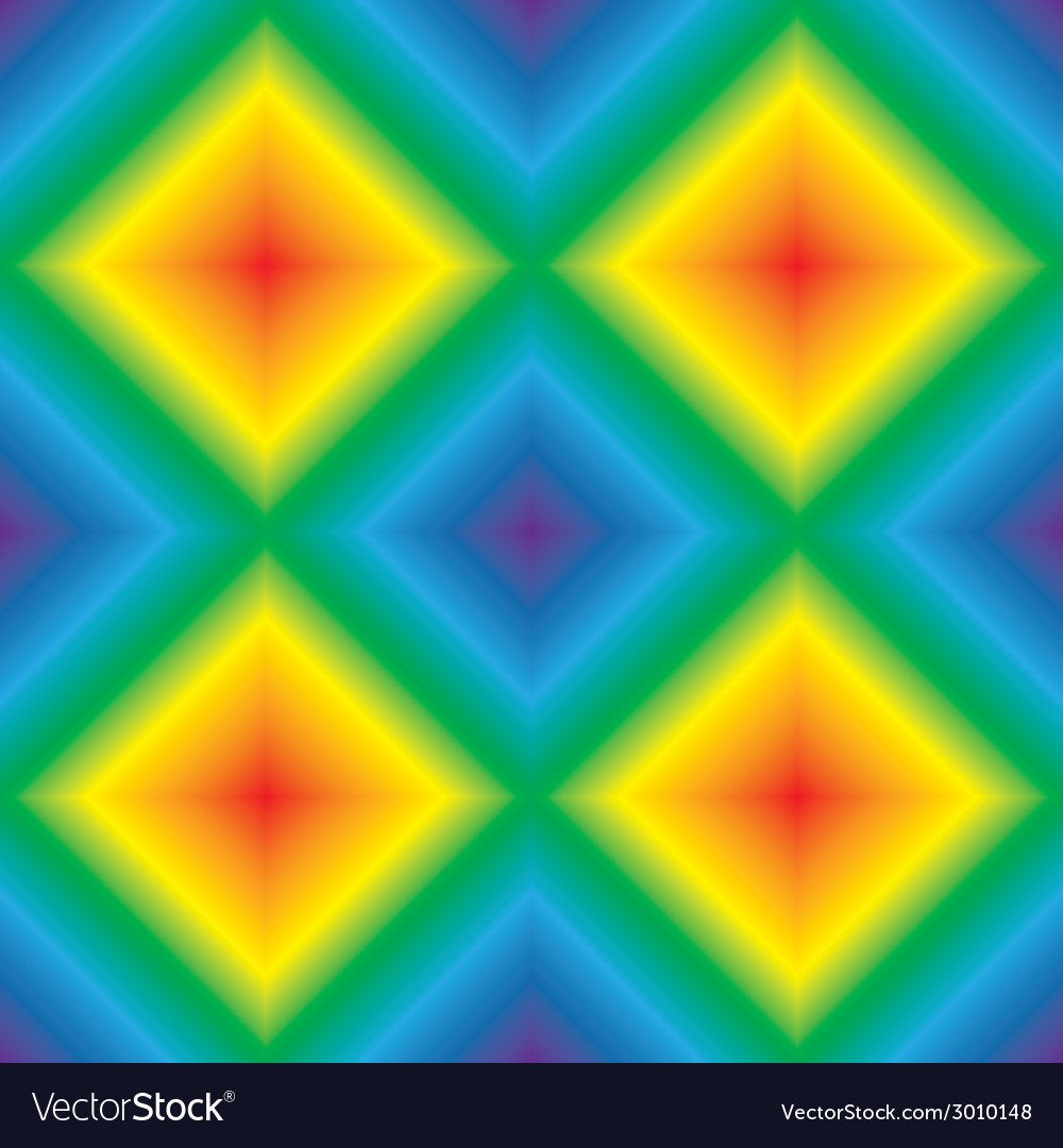 Rainbow rhombus seamless texture vector   Price: 1 Credit (USD $1)