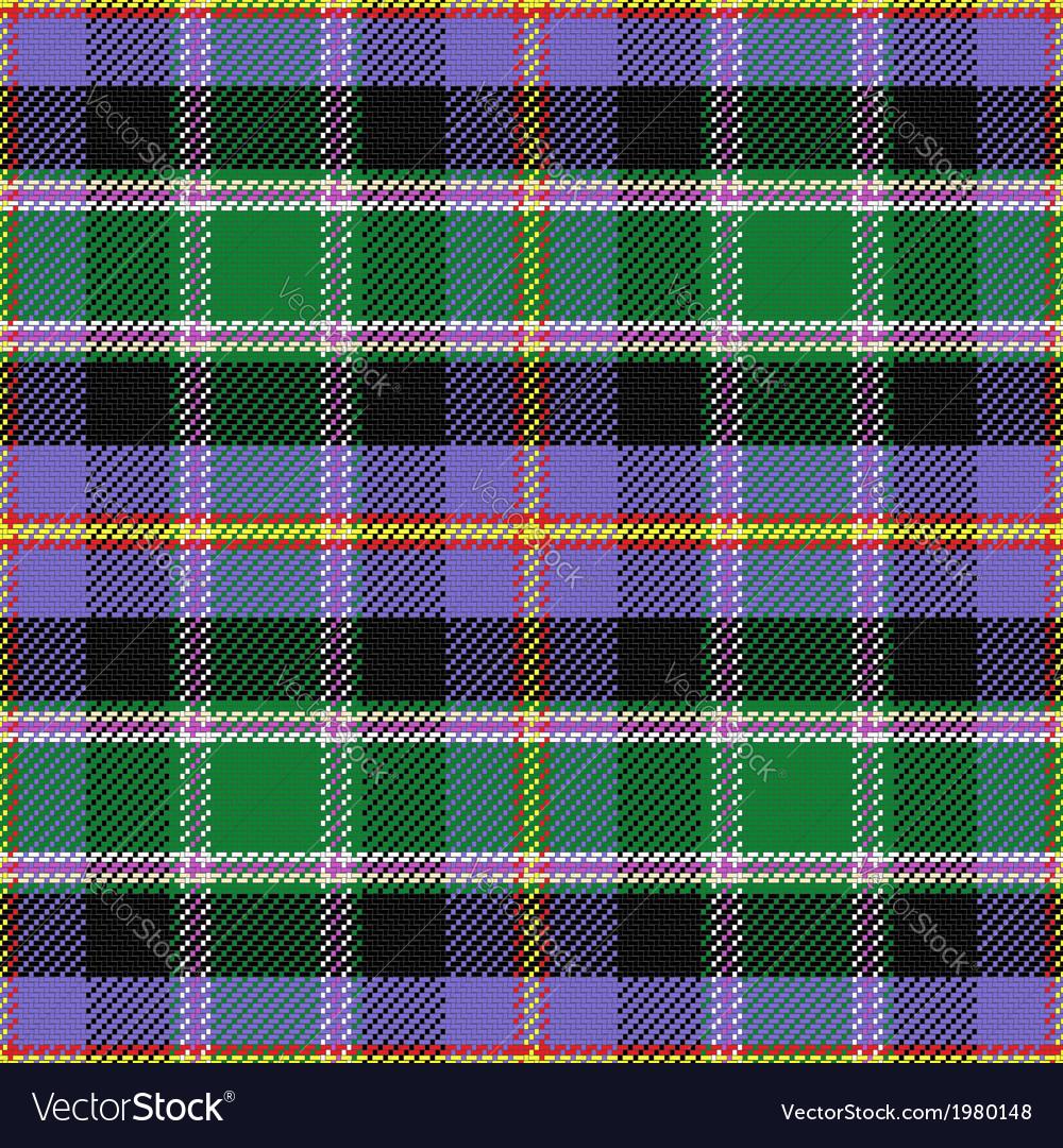 Seamless pattern scottish tartan colorado vector | Price: 1 Credit (USD $1)