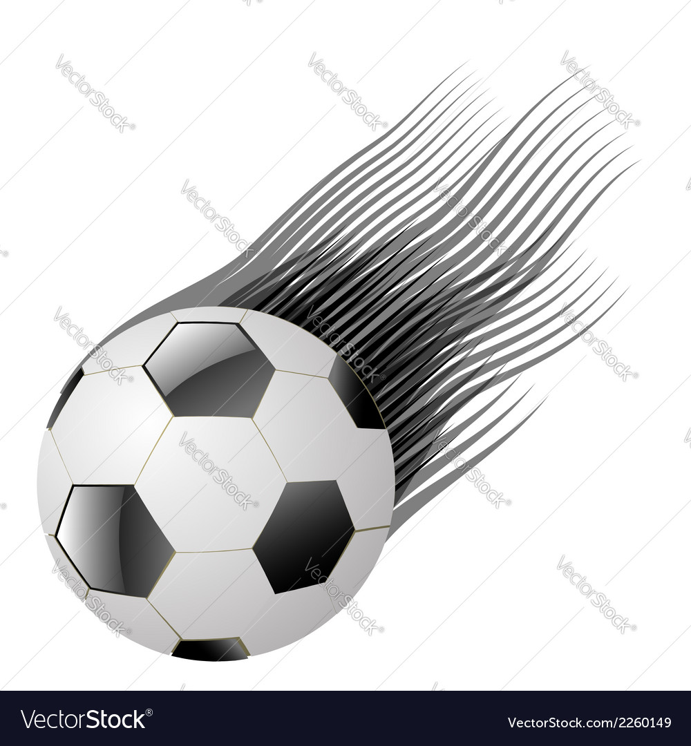 Ball on a white background vector | Price: 1 Credit (USD $1)