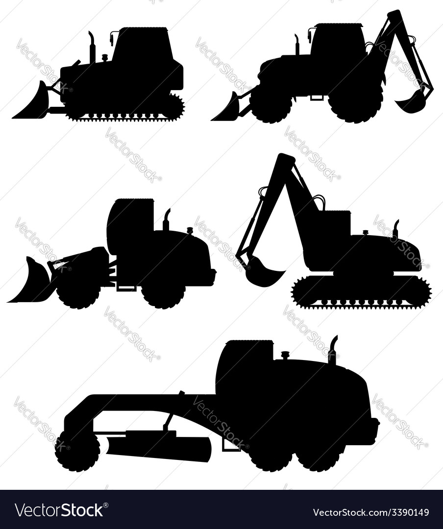 Car equipment for construction work 02 vector | Price: 1 Credit (USD $1)
