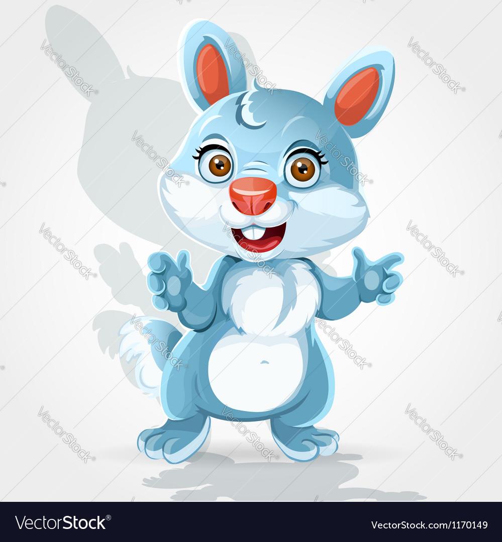 Cute little bunny vector | Price: 1 Credit (USD $1)