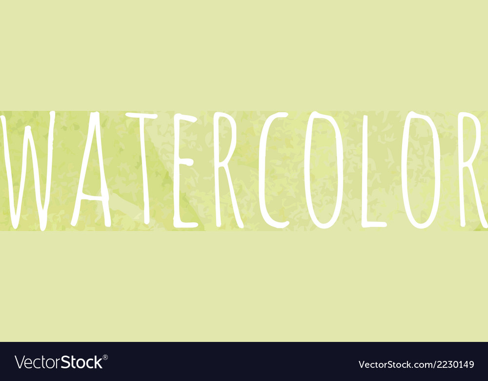 Watercolor blob vector | Price: 1 Credit (USD $1)