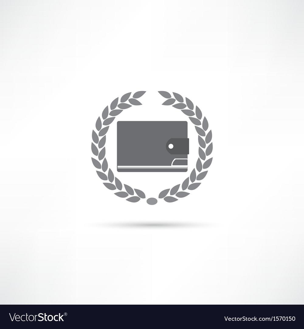 Purse icon vector | Price: 1 Credit (USD $1)