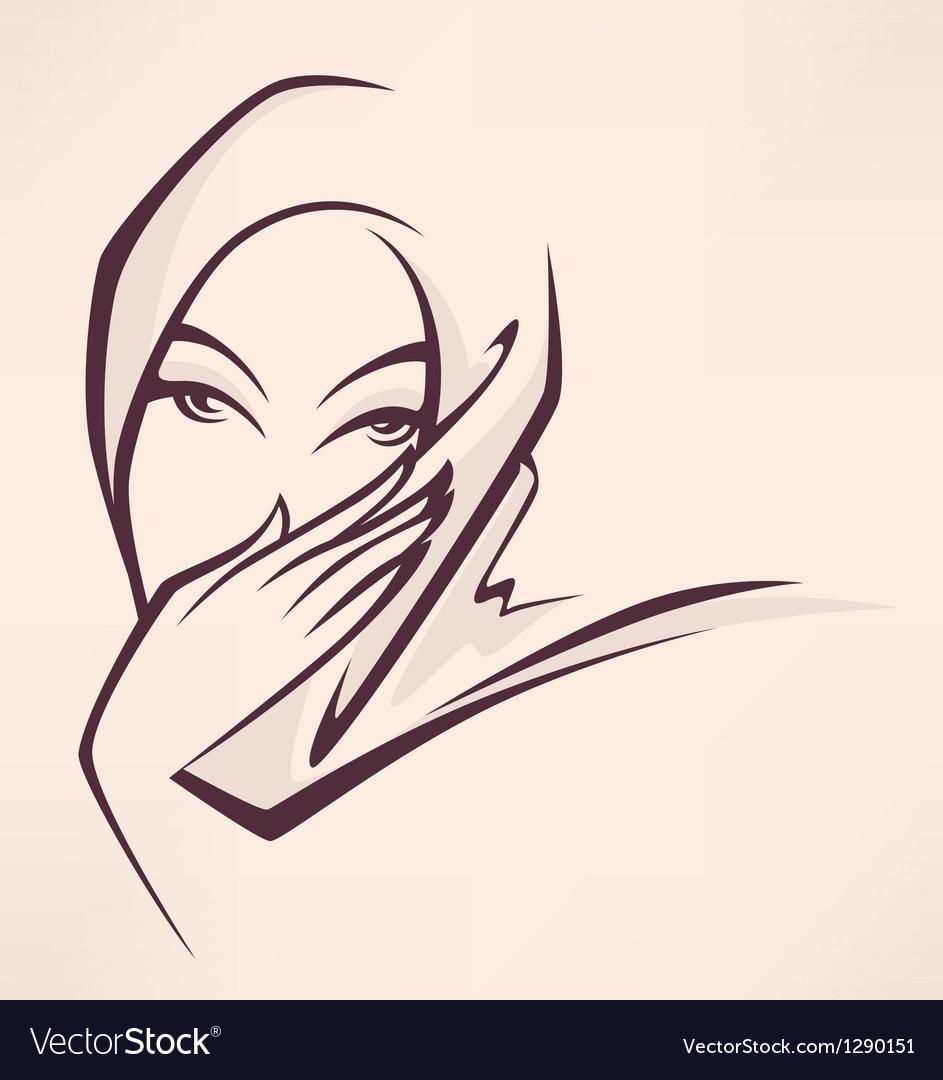 Arabian beauty vector | Price: 1 Credit (USD $1)