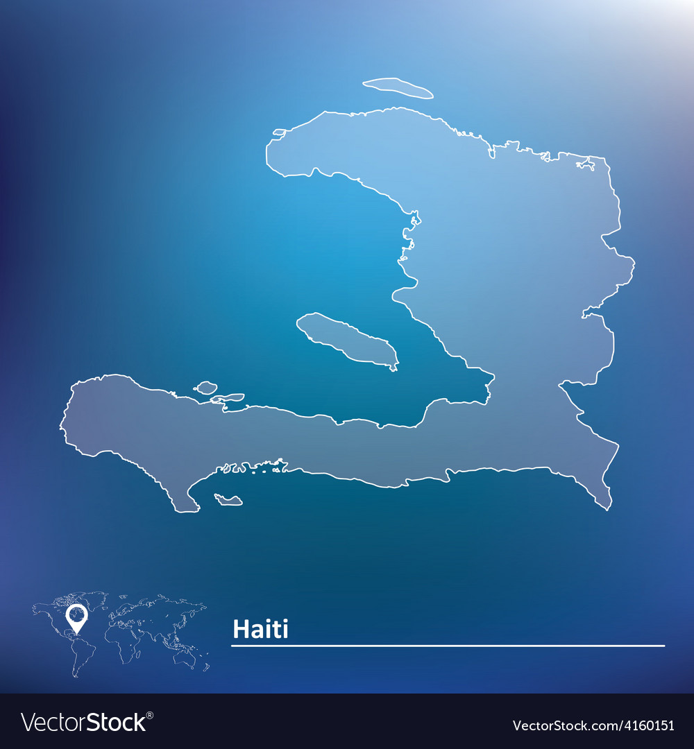 Map of haiti vector | Price: 1 Credit (USD $1)