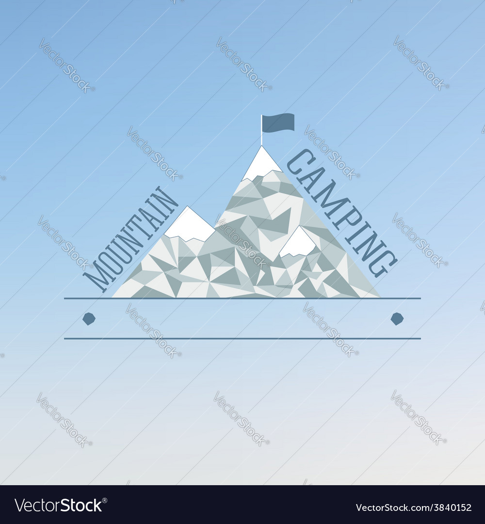Badge and label logo graphic on abstract blue vector | Price: 1 Credit (USD $1)