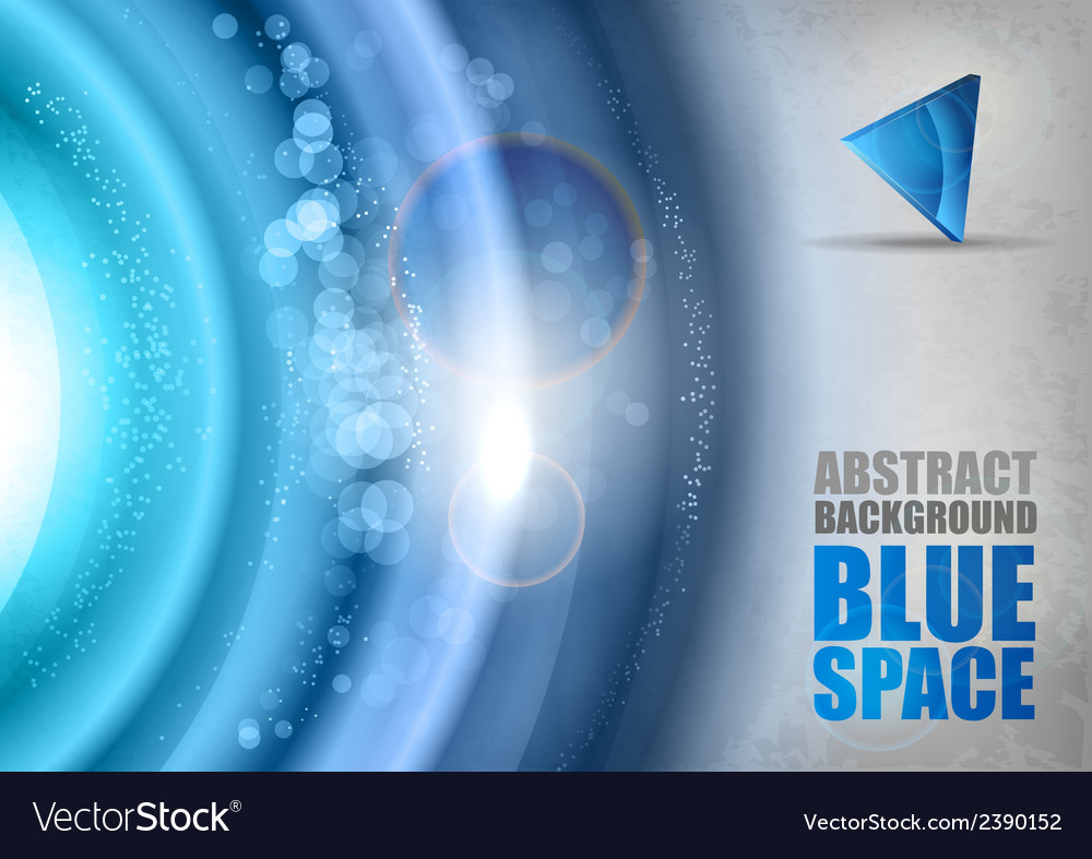 Blue universe vector | Price: 1 Credit (USD $1)