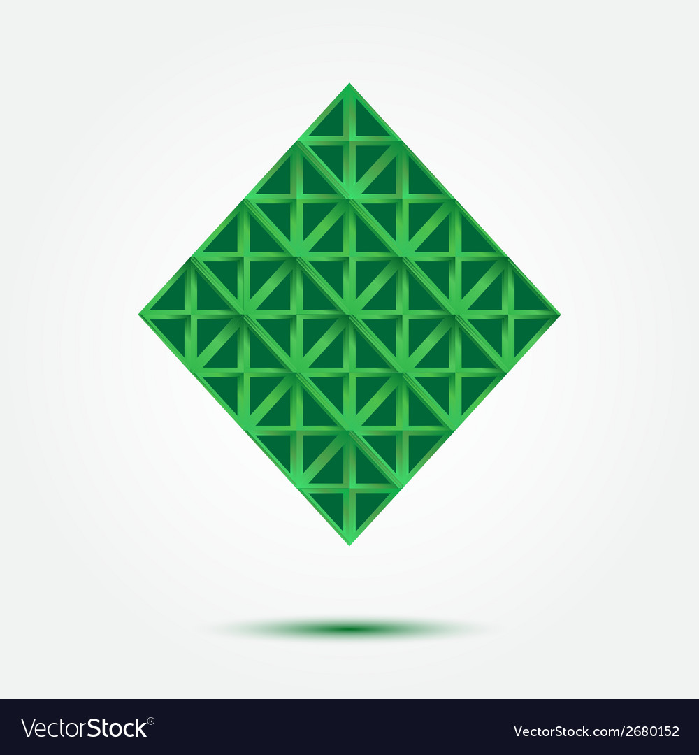 Business technology abstract rhombus symbol - vector | Price: 1 Credit (USD $1)