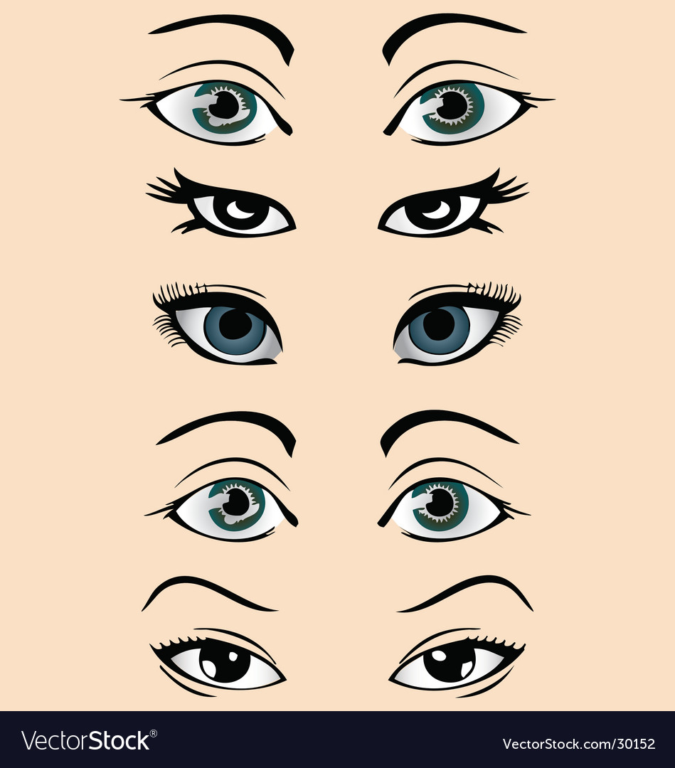 Eyes vector | Price: 1 Credit (USD $1)