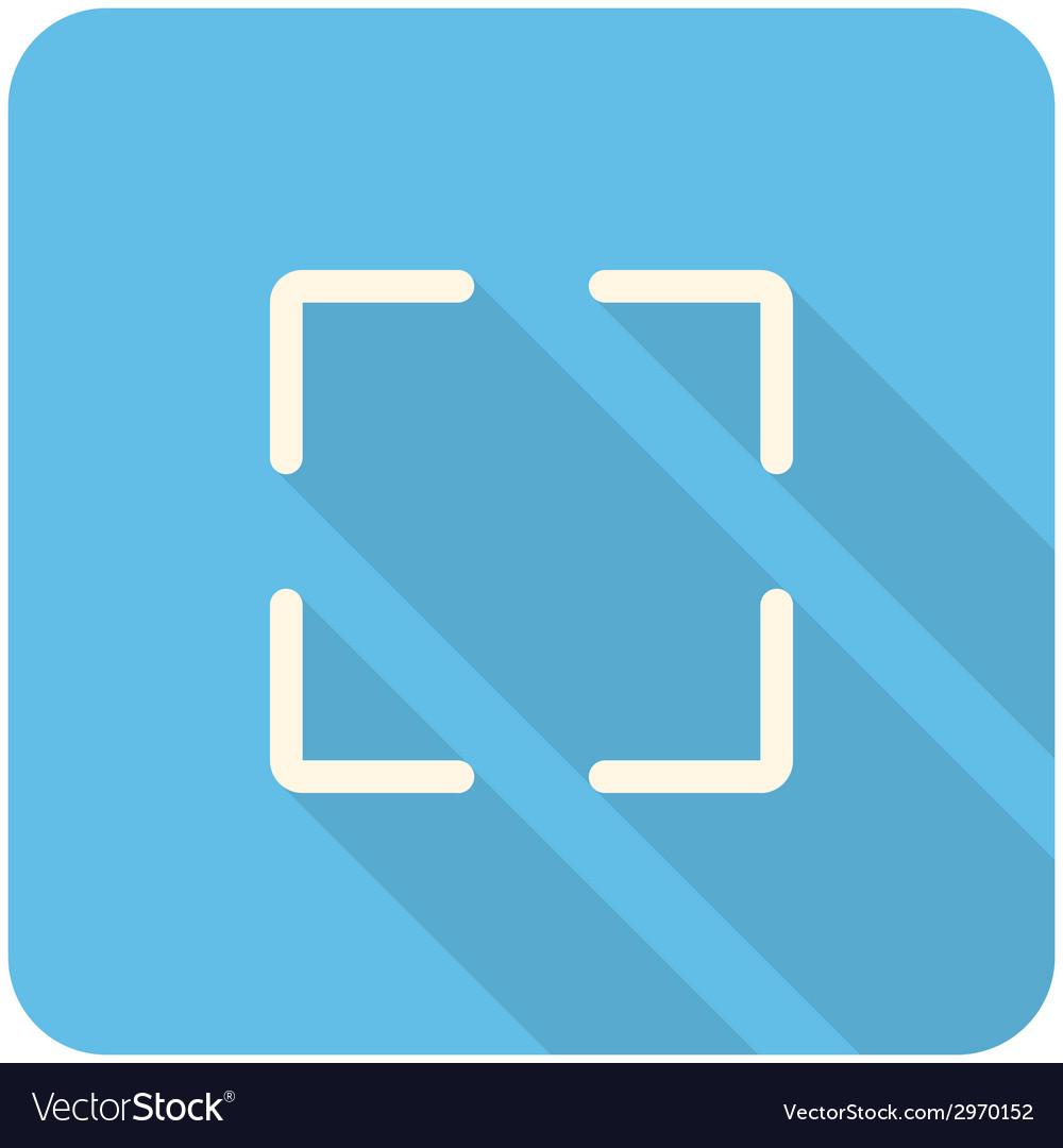 Full screen icon vector | Price: 1 Credit (USD $1)