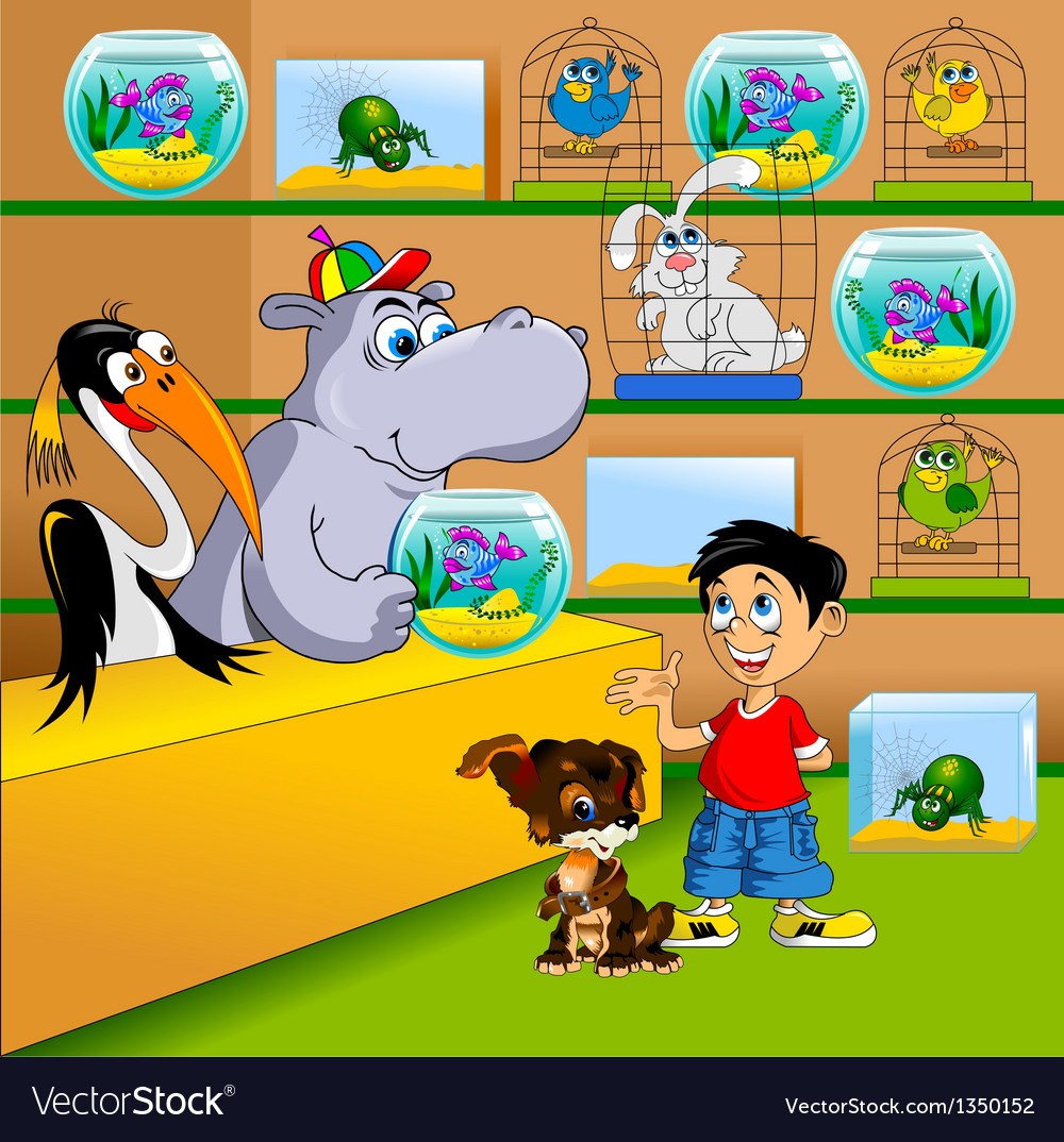Pet shop vector | Price: 3 Credit (USD $3)