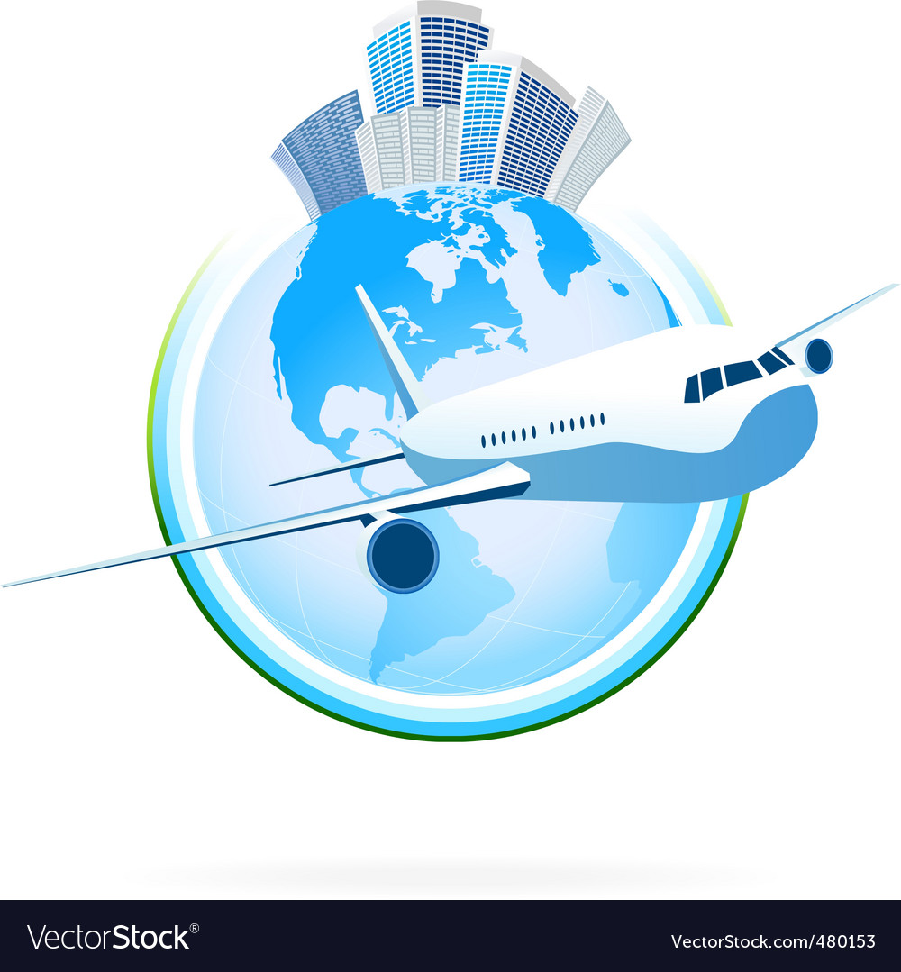 Business planet vector