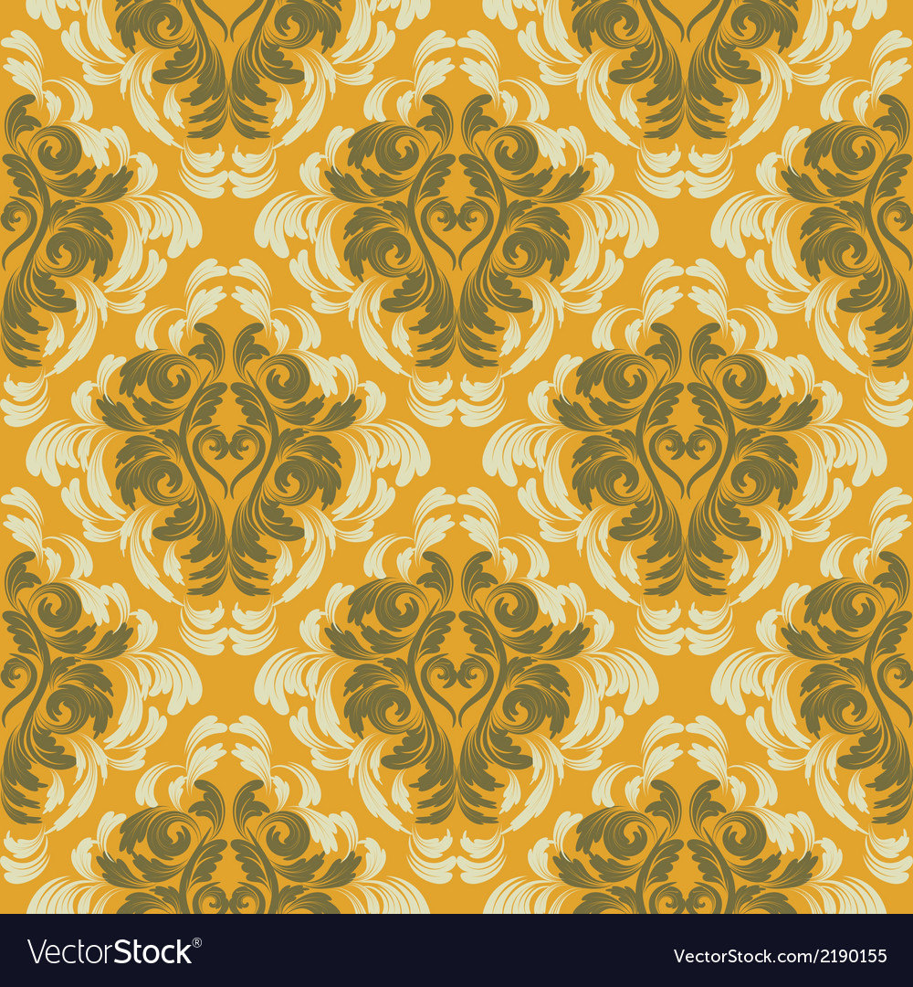 Damask background vector   Price: 1 Credit (USD $1)