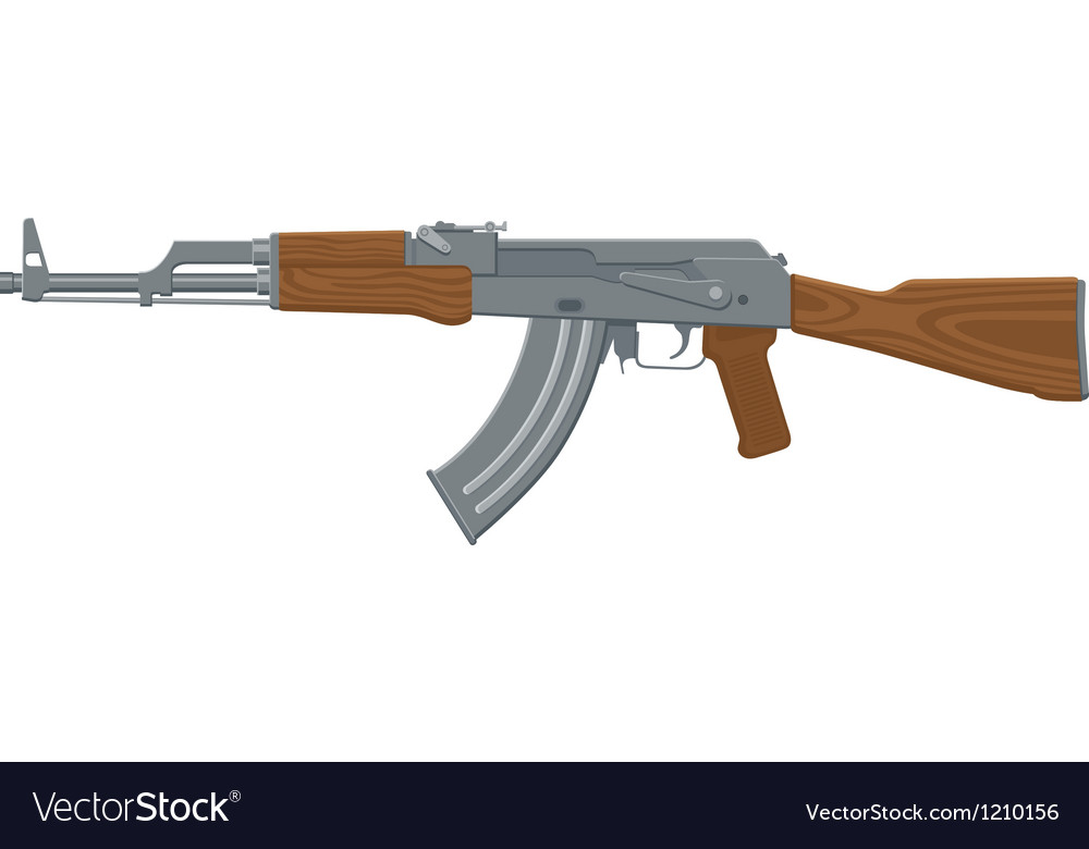 Assault rifle vector | Price: 1 Credit (USD $1)