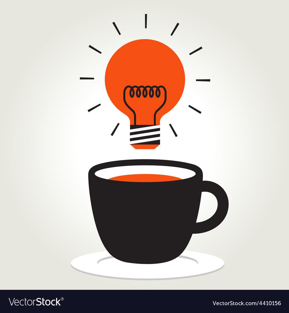 Coffee idea vector | Price: 1 Credit (USD $1)