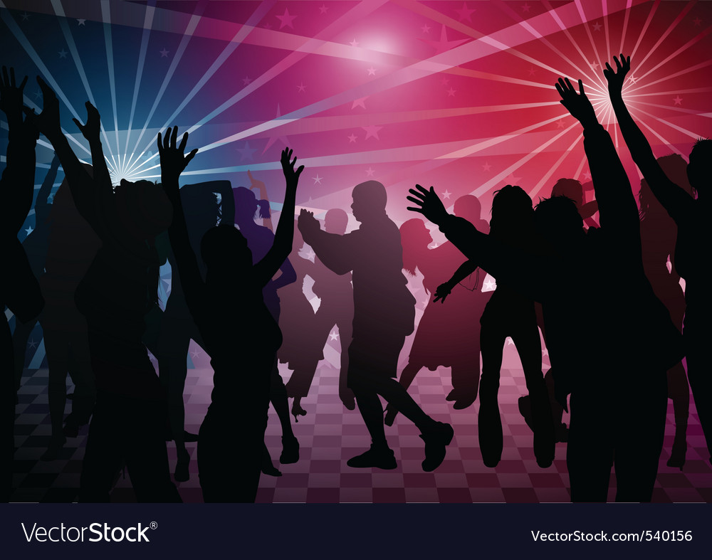 Disco dance vector | Price: 1 Credit (USD $1)