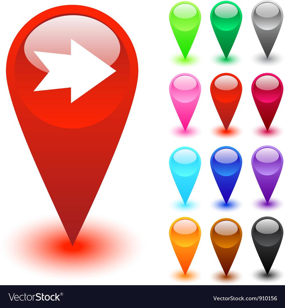 Forward arrow button vector | Price: 1 Credit (USD $1)