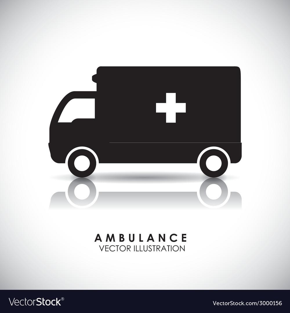 Medical transport vector | Price: 1 Credit (USD $1)