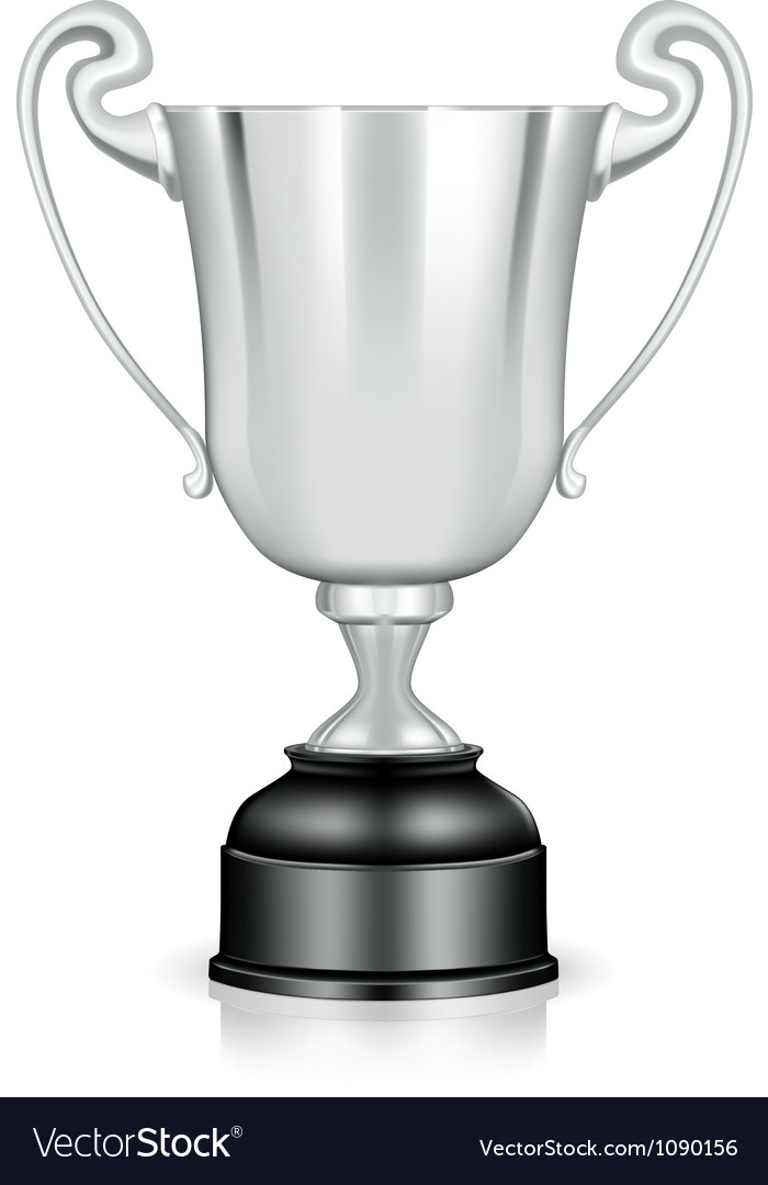 Silver trophy vector | Price: 1 Credit (USD $1)