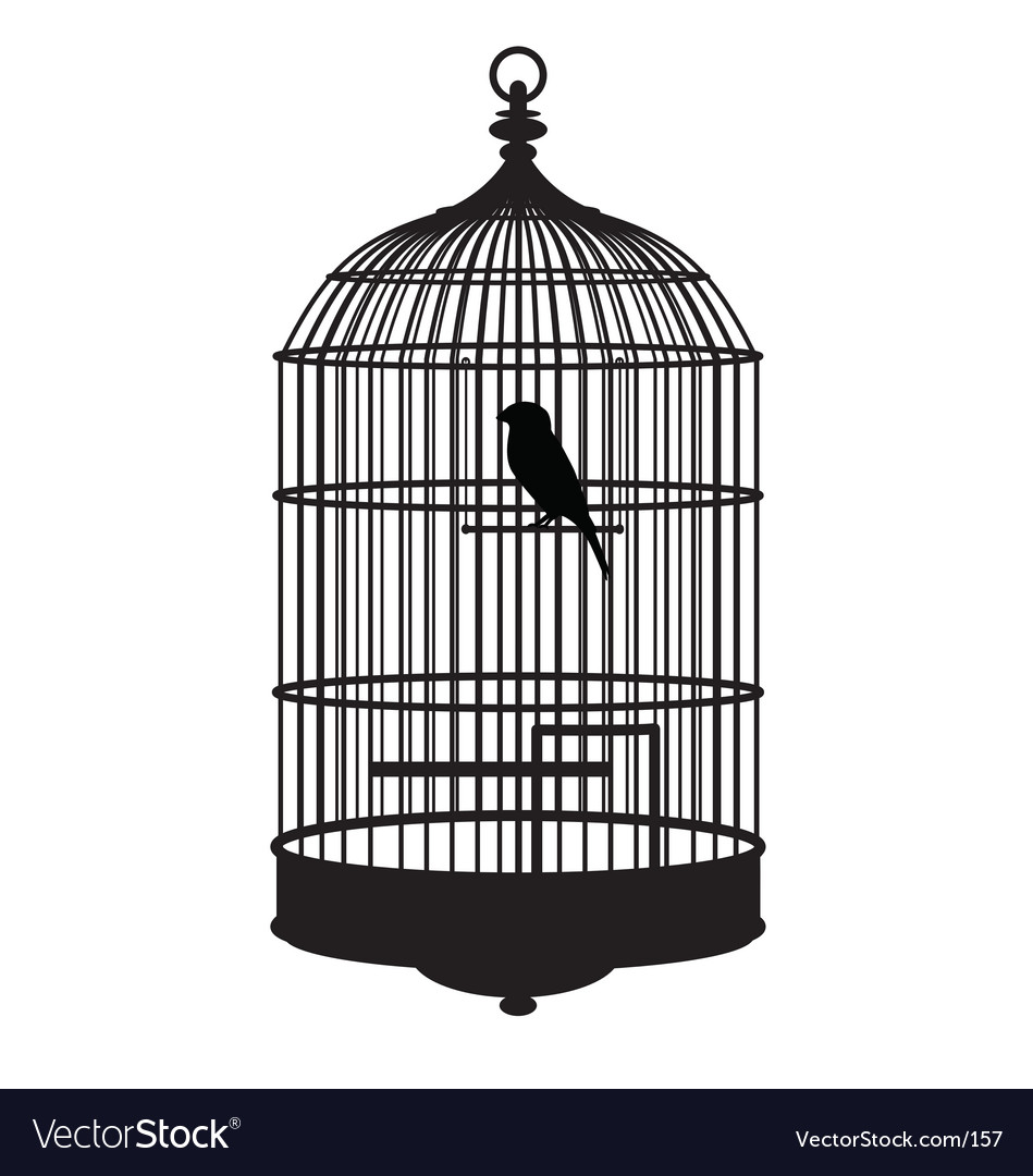 Bird cage vector | Price: 1 Credit (USD $1)
