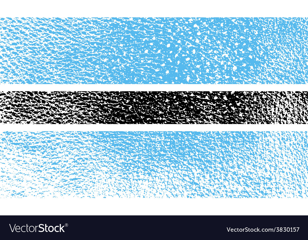 Flag of botswana with old texture vector   Price: 1 Credit (USD $1)