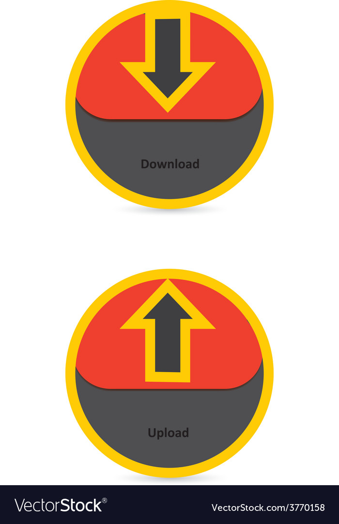 Download and upload icons 34 vector | Price: 1 Credit (USD $1)