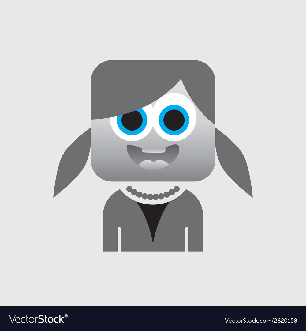 Square cartoon vector | Price: 1 Credit (USD $1)