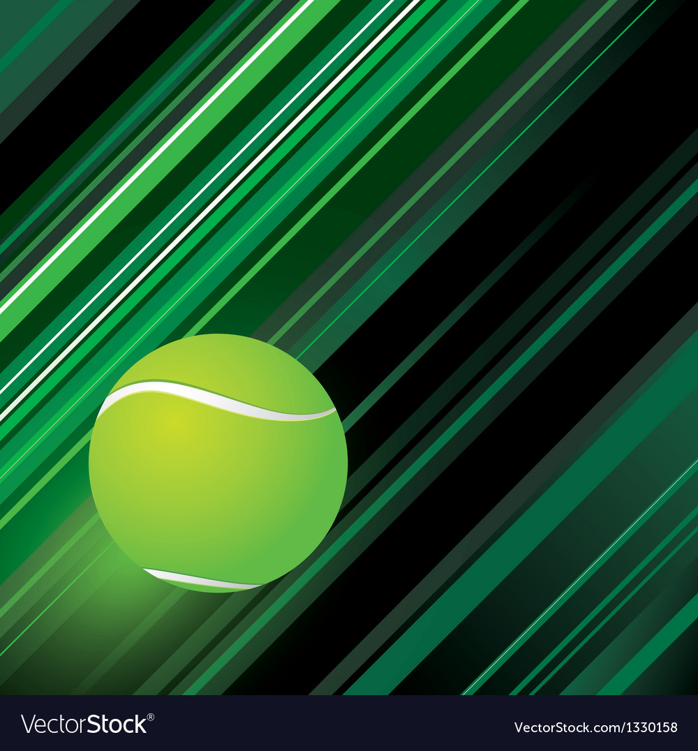 Tennis background design vector | Price: 1 Credit (USD $1)