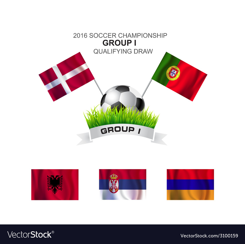 2016 soccer championship group i qualifying draw vector | Price: 1 Credit (USD $1)