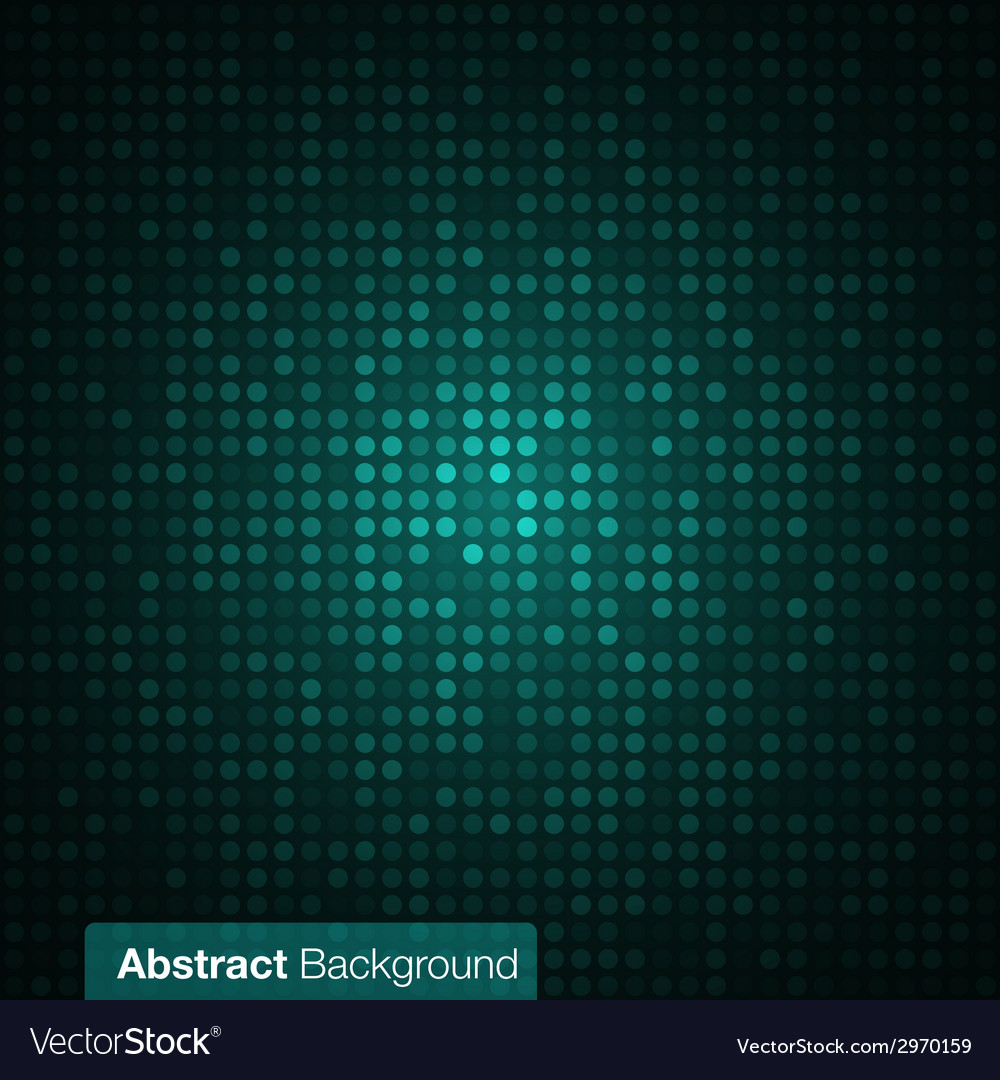 Abstract dark green background vector