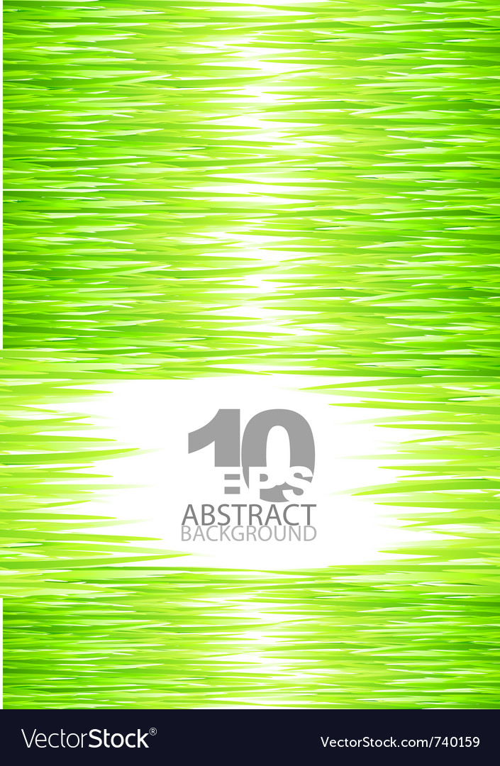 Green summer grass background vector | Price: 1 Credit (USD $1)
