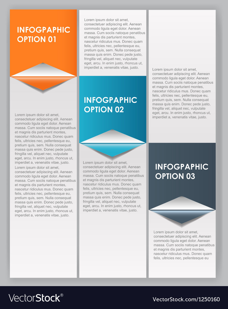 Infographics design elements vector | Price: 1 Credit (USD $1)