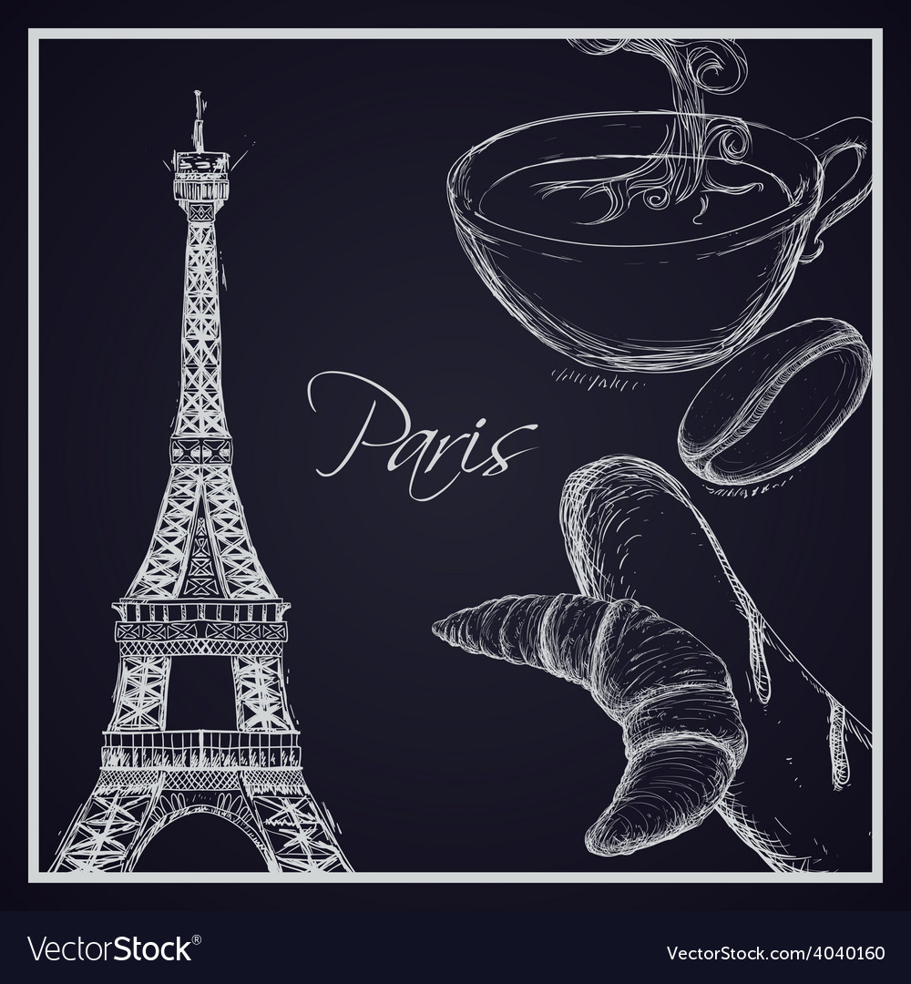 Paris design vector | Price: 1 Credit (USD $1)