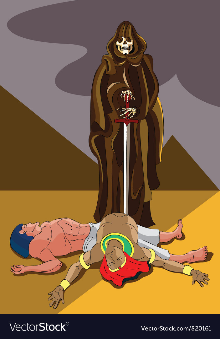 Death in egypt vector | Price: 3 Credit (USD $3)