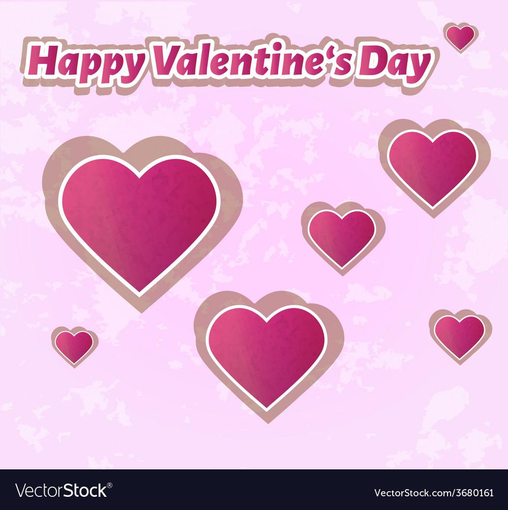 Happy valentines day vector   Price: 1 Credit (USD $1)