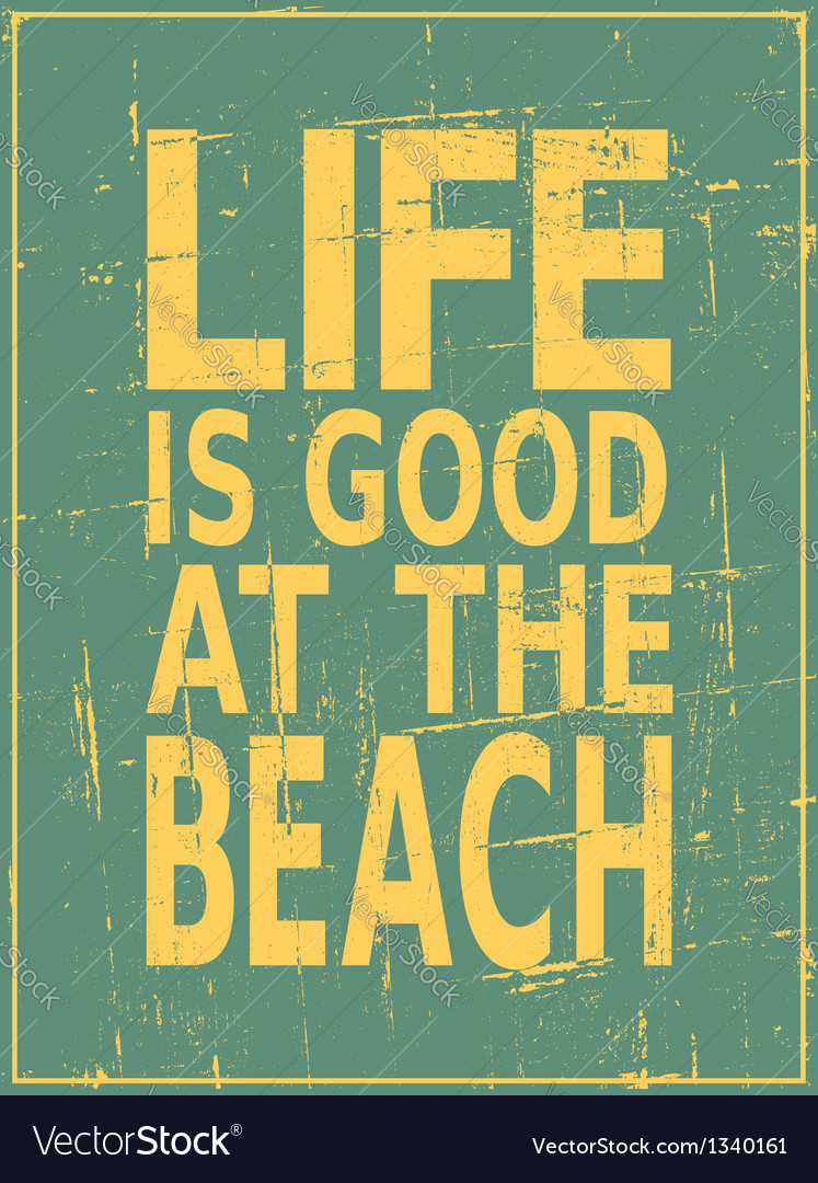 Vintage beach design vector   Price: 1 Credit (USD $1)