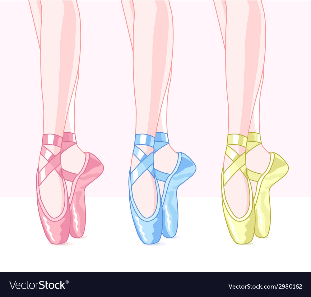 Ballet slippers vector | Price: 1 Credit (USD $1)