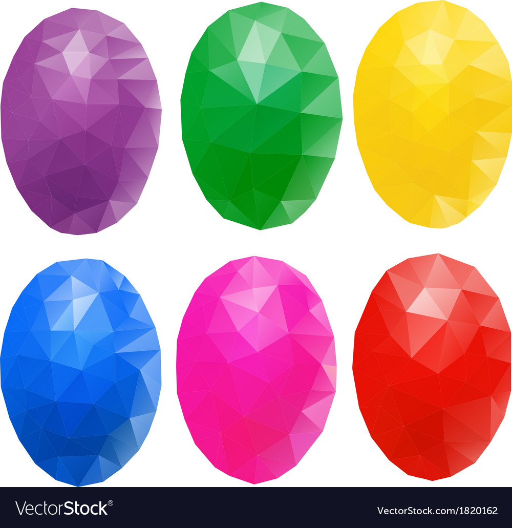 Egg polygon vector | Price: 1 Credit (USD $1)