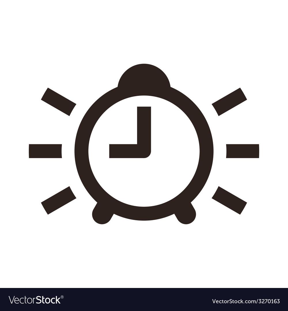 Alarm clock icon vector | Price: 1 Credit (USD $1)