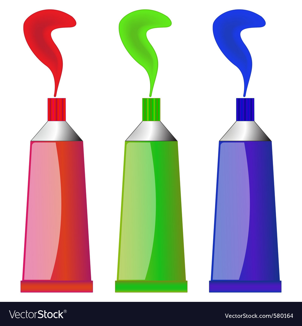 Paint tubes vector   Price: 1 Credit (USD $1)