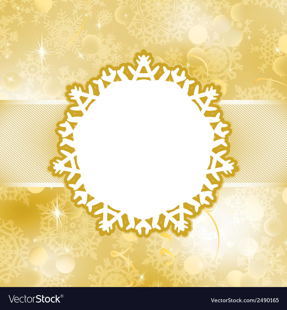 Christmas card with snowflakes eps 8 vector | Price: 1 Credit (USD $1)