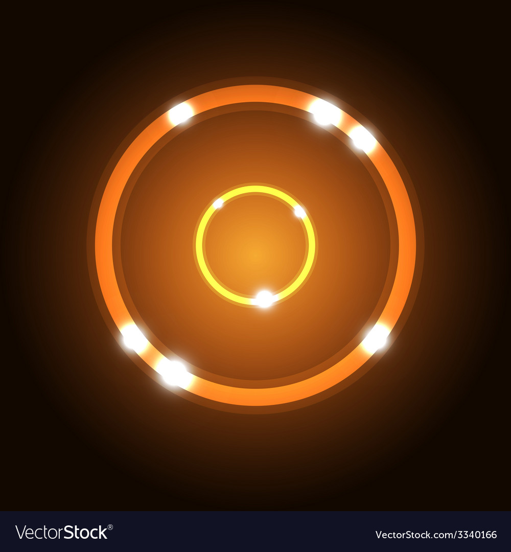 Abstract background with orange circle vector | Price: 1 Credit (USD $1)