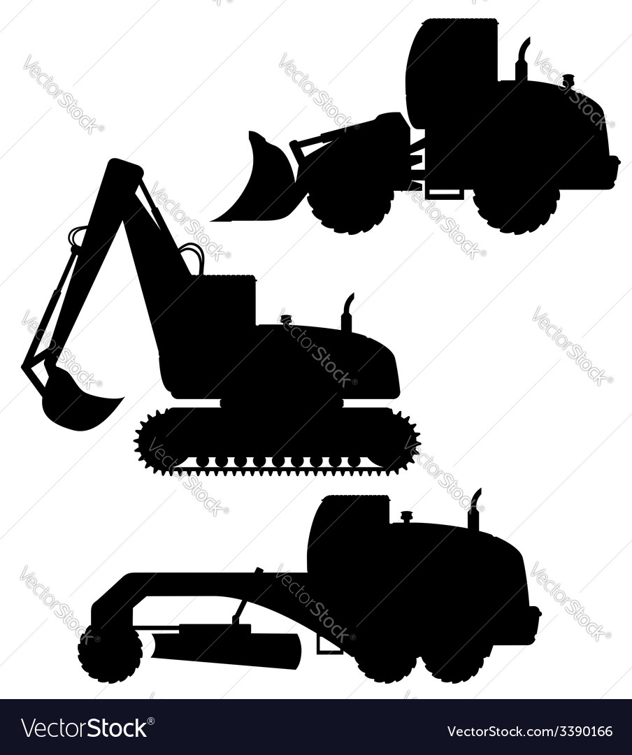 Car equipment for road works 02 vector | Price: 1 Credit (USD $1)