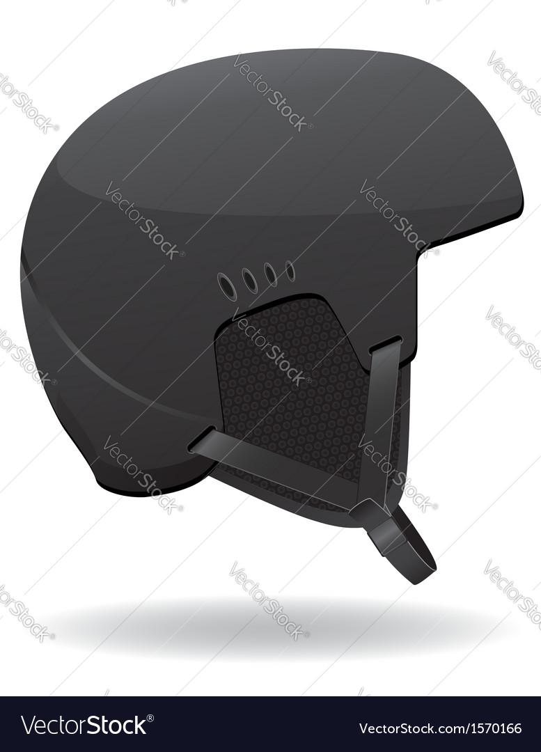 Helmet for snowboarding vector | Price: 1 Credit (USD $1)
