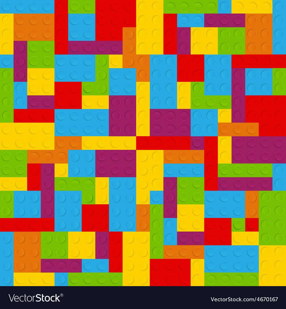 Block seamless pattern vector | Price: 1 Credit (USD $1)